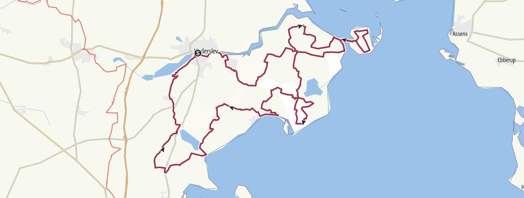 Mappa / Camino Haderslev Næs