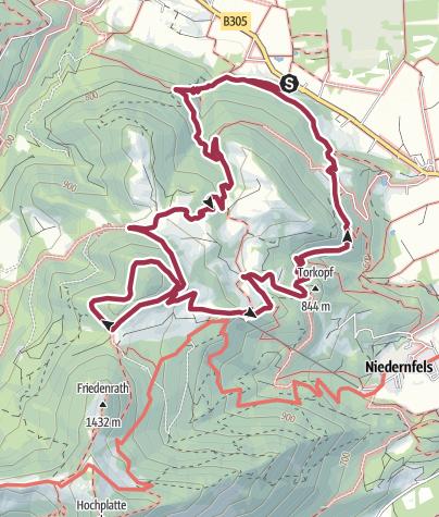 Karte / SalzAlpenTour – Über die Grassauer Almen