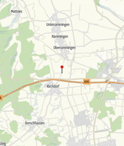 Karte / Blick auf Kirchdorf
