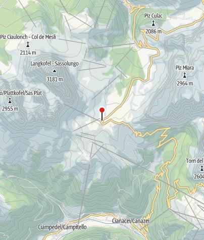 Karte / Sellajoch-Haus