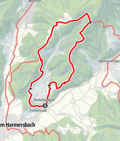Map / Genießerpfad - Hahn-und-Henne-Runde in Zell am Harmersbach (Premiumweg)