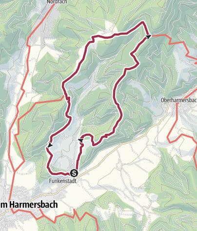 Karte / Genießerpfad - Hahn-und-Henne-Runde in Zell am Harmersbach (Premiumweg)