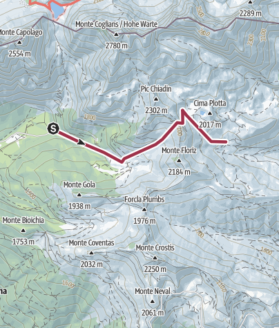 Map / Lambertenghi Marinelli