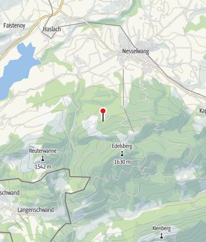 Hartă / Bayerstettner-Alpe
