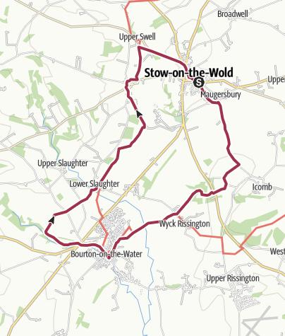 Map / 20. Bourton, Windrush, Slaughter, Swell - 12.09