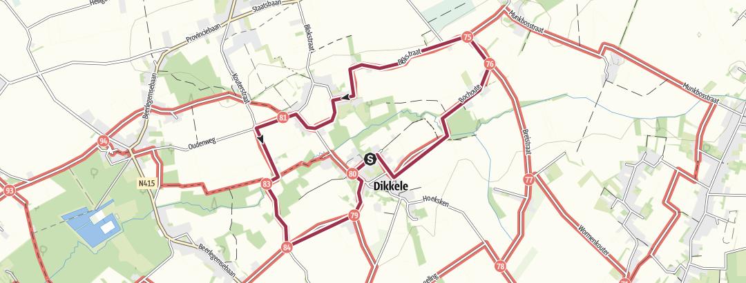Mapa / Rond Dikkele
