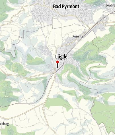 Kaart / Heimatmuseum Lügde