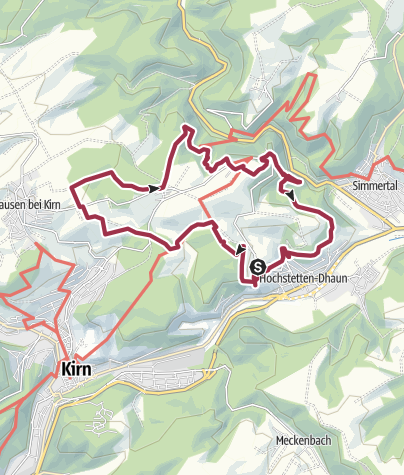 Map / Vitaltour Wildgrafenweg