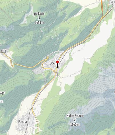 Karte / Alpen-Outlet Oberau