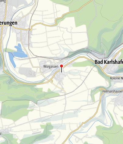 Karte / Abtei vom heiligen Kreuz Beverungen-Herstelle