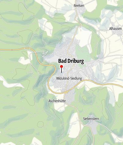 Map / Dreifaltigkeitskloster Bad Driburg