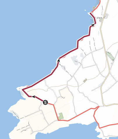 Mappa / Cliff of Moher - Viewpoint sud