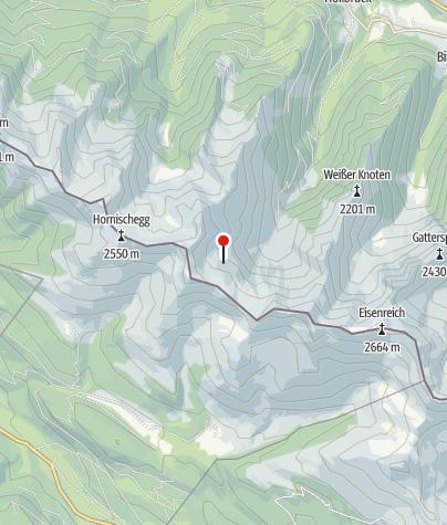 Map / Unterstand Hochgränten