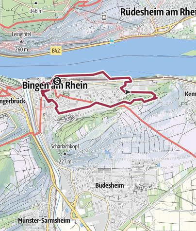 Map / Bingen 30.03.2013 10:48