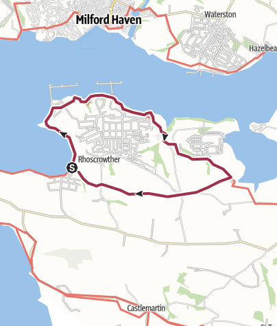 Map / Around Valero Refinery