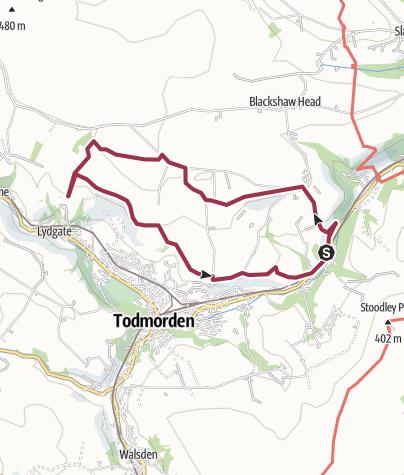 Map / Rocks of Tod, Apr 27, 2015