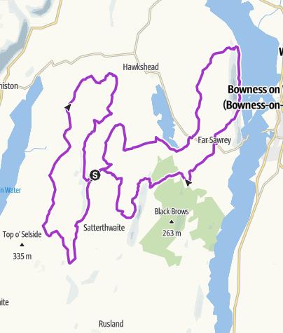 Map / UltraTrail 26 Grizedale