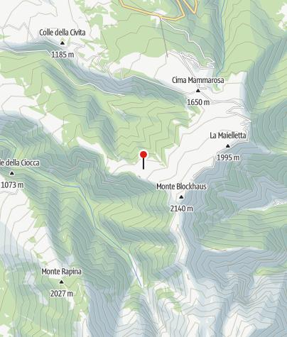 Karte / Rifugio di Marco