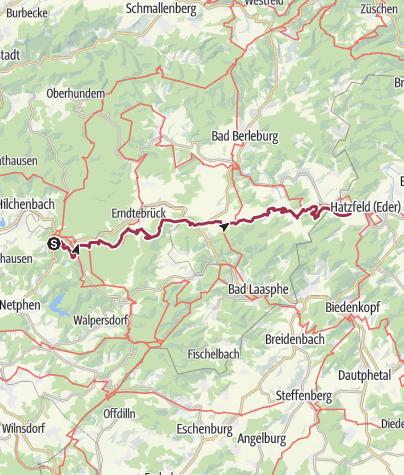 Map / Wanderstrecke  on GPSies.com