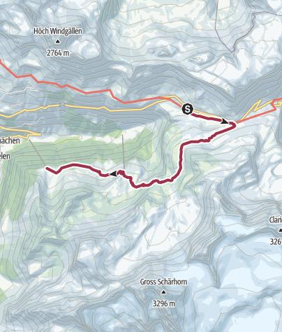 Karte / Naturkundlicher Höhenweg Schächental