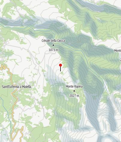 Karte / Rifugio Barrasso