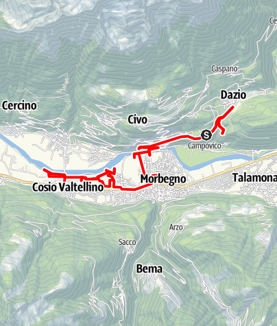 Map / Morbegno 6-2-2013
