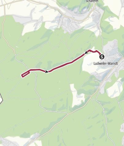 Map / 2014.09.14. ludweiler - warndtweiher