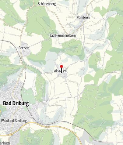 Karte / Friedrich Wilhelm Weber Museum Alhausen