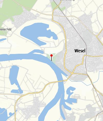 Karte / Rheinpromenade Wesel