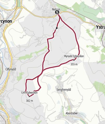 Map / Route_Eglwysilan