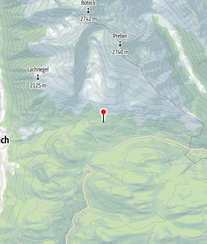 Karte / Prodingerhütte