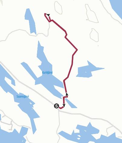 Map / Isojärvi National park