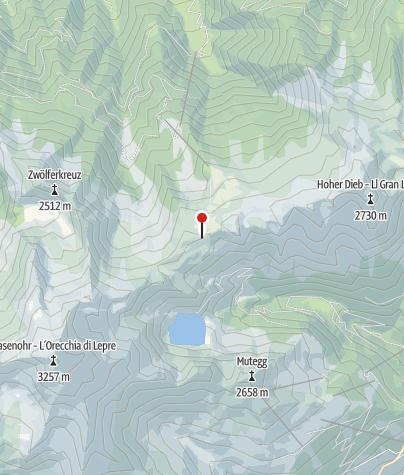 Karte / Tarscher Pass