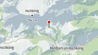 """Karte / """"Vier Hütten"""""""