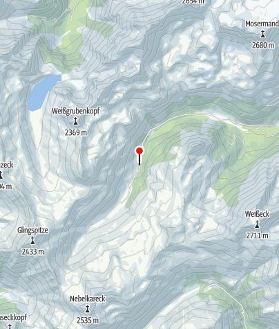 Karte / Königalm