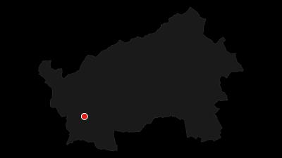 Karte / Rundgang von Lago di Levico - Naturalistischer Wanderweg