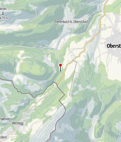 Map / Breitachklamm