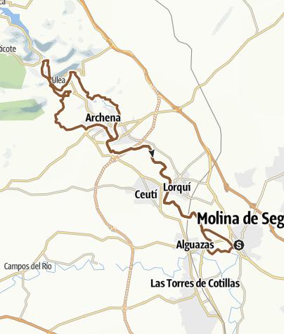 Mapa / 52km_Molina-Archena_Ojós_Molina
