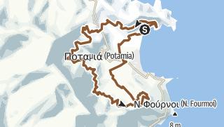 מפה / Thassos: below the ridge