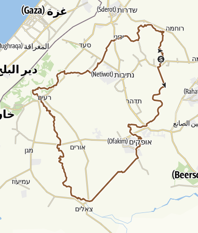 Map / מבצע יואב 2013
