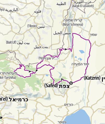 מפה / מחנה כביש 1