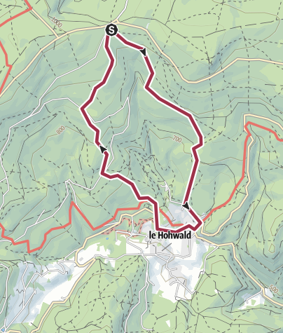 Map / Rundwanderung - Rothlach - Le Hohwald