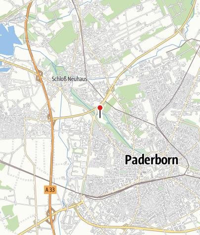 Karte Paderborn.Padersee Paderborn See Outdooractive Com