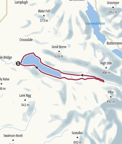 Map / Round Ennerdale