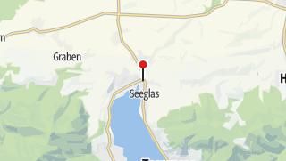 Karte / Die Alpenüberquerung – Einmal zu Fuß über die Alpen wandern