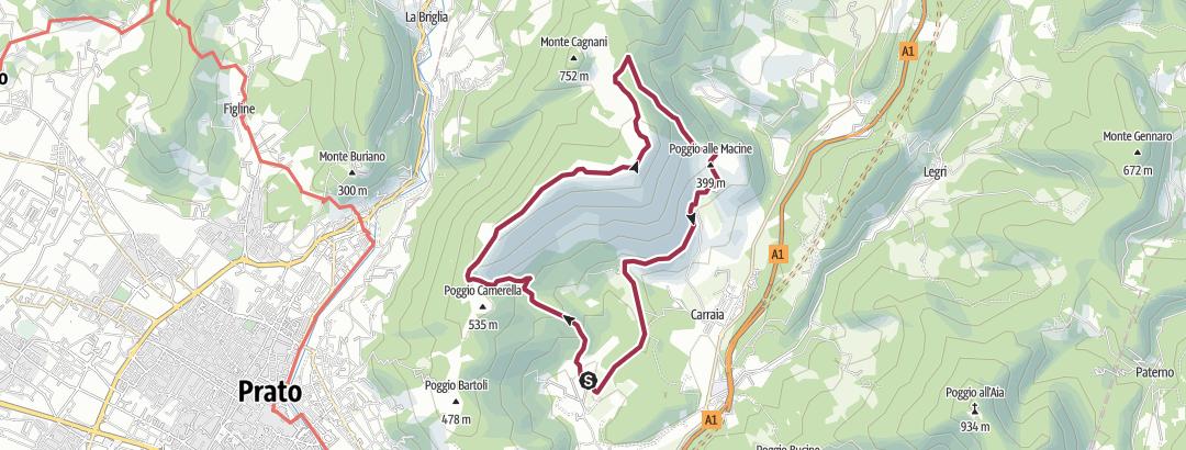 地图 / Travalle-Cantagrilli-Travalle