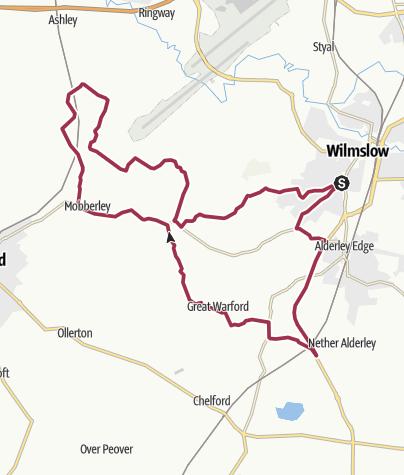 Map / U3A-Short-Mobberley