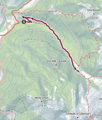 Map / Trekking of Caldenave