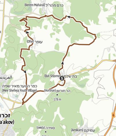 Map / Bat Shlomo round