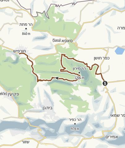 מפה / מירון חורפיש